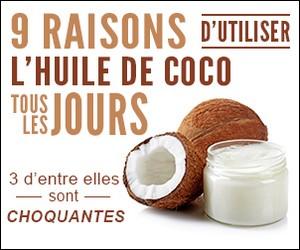 9 Raisons d'utiliser l'huile de coco tous les jours.